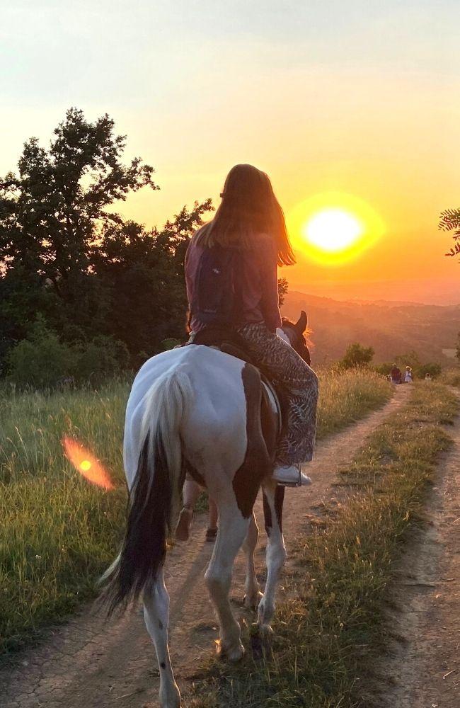 Zalazak sunca Fruška gora