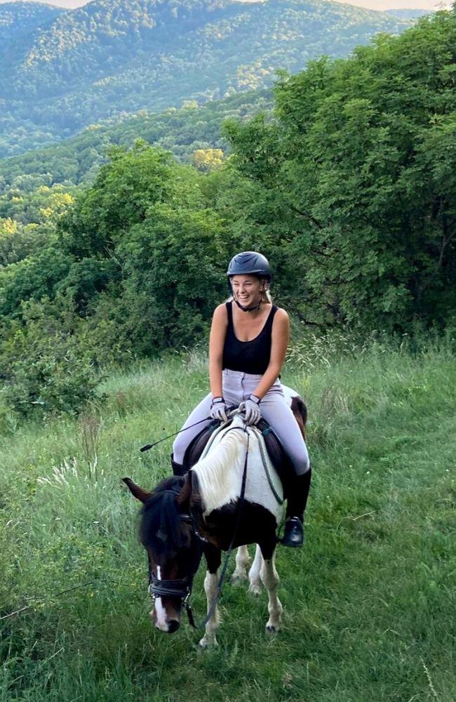 Jahanje konja u prirodi