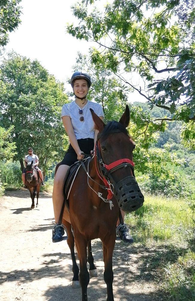Konj i jahač Fruška gora